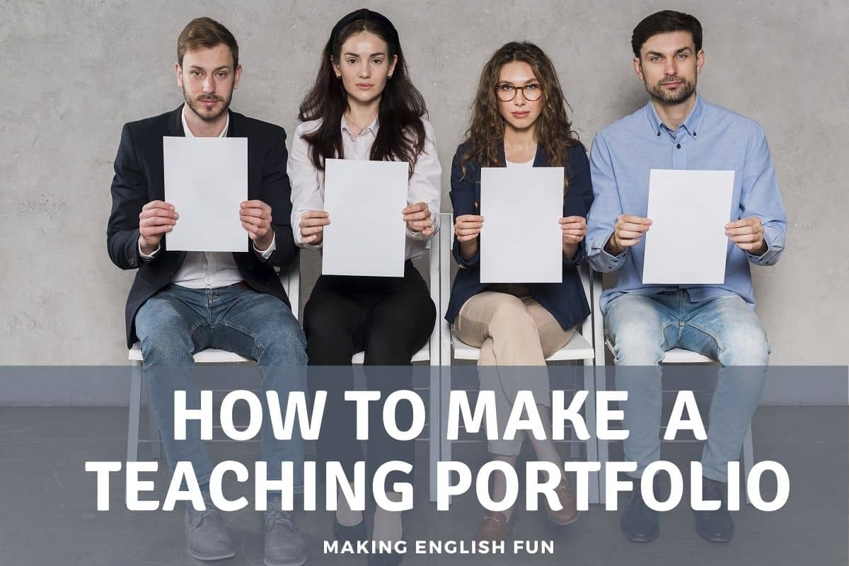 How to make a teaching portfolio
