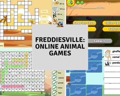 online animal ESL Games