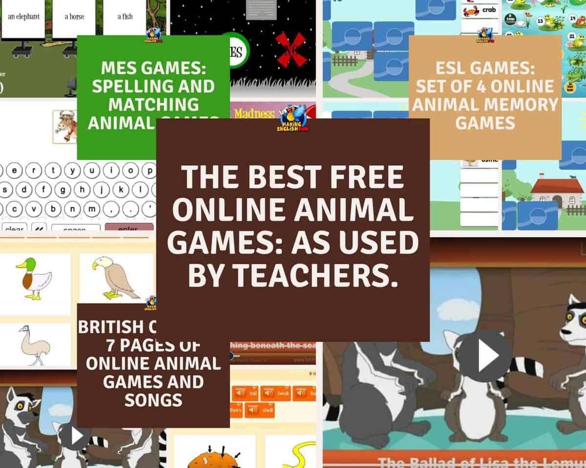 Best FREE Online Animal Games