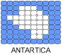 Antartica Flag Pin Pattern