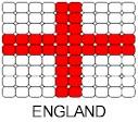 Greece Flag Pin Pattern