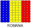 Romania Flag Pin Pattern