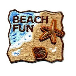 Girl Scout Beach Fun Patch
