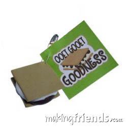 Ooey Gooey S'Mores Girl Scout Friendship SWAP Kit via @gsleader411