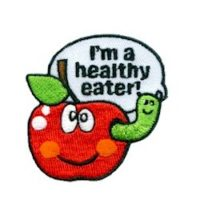 Girl Scout Healthy Eater Fun Patch