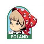 Girl Scout Poland Fun Patch