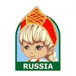 Girl Scout Russia Fun Patch