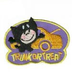 Trunk or Treat Girl Scout Fun Patch