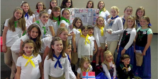 Girl Scout Thinking Day Country Norway