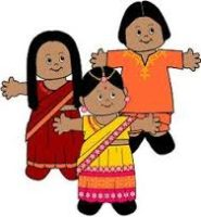 india paper doll
