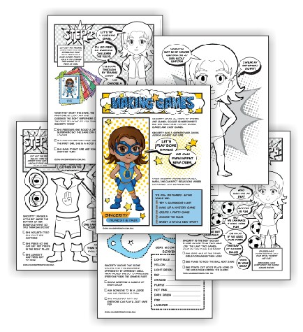 Girl Scout Brownie Making Games Badge