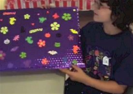 Girl Scout Sit Upon Craft