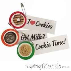 Mini Cookie Girl Scout Friendship SWAP Kit via @gsleader411
