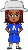 Madagascar Girl Guide Uniform