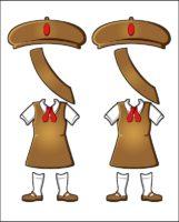 Superhero Twilight's Girl Guide Uniform for Haiti