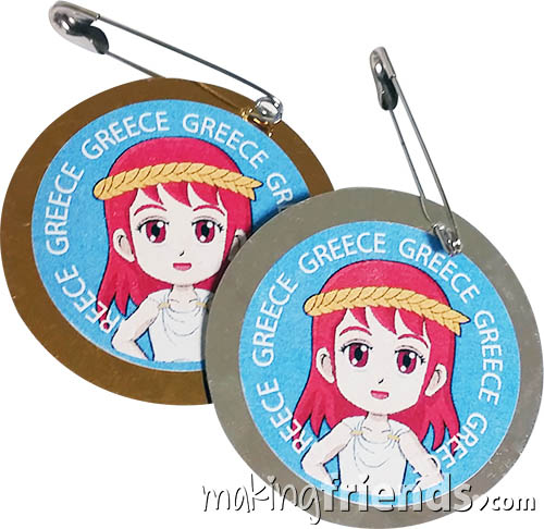 Girl Scout Greece Thinking Day SWAP Kit via @gsleader411