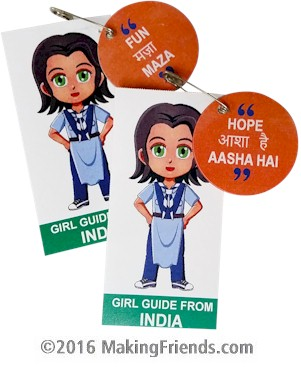 India Girl Scout SWAP