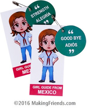 Mexico Girl Scout SWAP