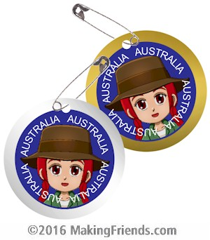Australia Thinking Day SWAP