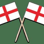 England Toothpick Flags