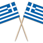 Greece Toothpick Flags