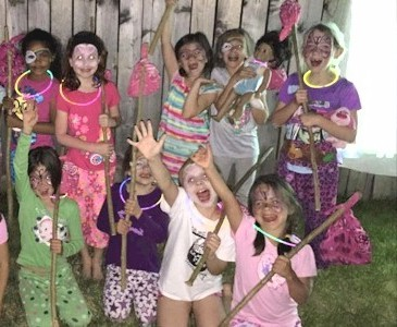 Brownie Girl Scout Sleepover