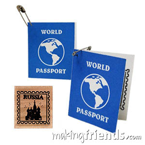 Russia Girl Scout Mini Passport SWAP Kit via @gsleader411