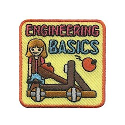 Girl Scout Engineering Basics Fun Patch