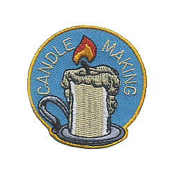 Candle Making Fun Patch