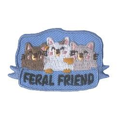 Girl Scout Feral Friend Fun Patch