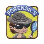 Girl Scout Forensics Patch