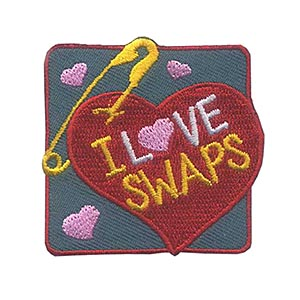 Girl Scout I Love SWAPs Fun Patch