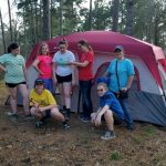 Girl Scouts Tent Camping