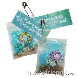 Mermaid Girl Scout Friendship SWAP Kit via @gsleader411