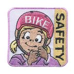 Girl Scout Bike Safety Patch