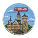 Girl Scout Germany Thinking Day Landmark Patch