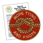 Girl Scout Rope Tying and Knots Patch