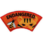 Endangered Animal Scout Patch