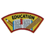 Education Advocate Service Patch from Youth Squad