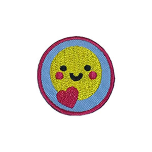 Happiness Helper Service Patch. Your little ones will enjoy earning this happiness patch and be just like the big kids! The Helping Hands level is specifically created for 3 and 4 year old girls and boys or anyone with the abilities of a preschooler. Perfect for tag alongs at your troop meeting. Part of the Outreach Patch program from Youth Squadand MakingFriends®.com. via @gsleader411