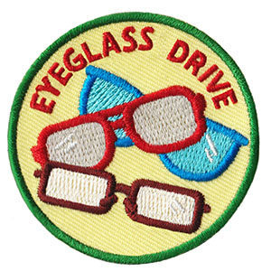 Eyeglass Drive Service Patch from Youth Squad