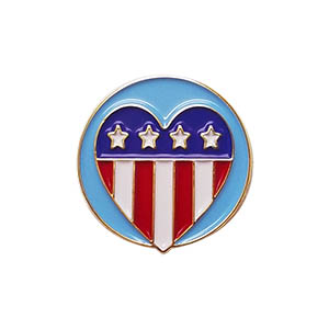 Patriotism Delegate Pin for Community Service from Youth Squad