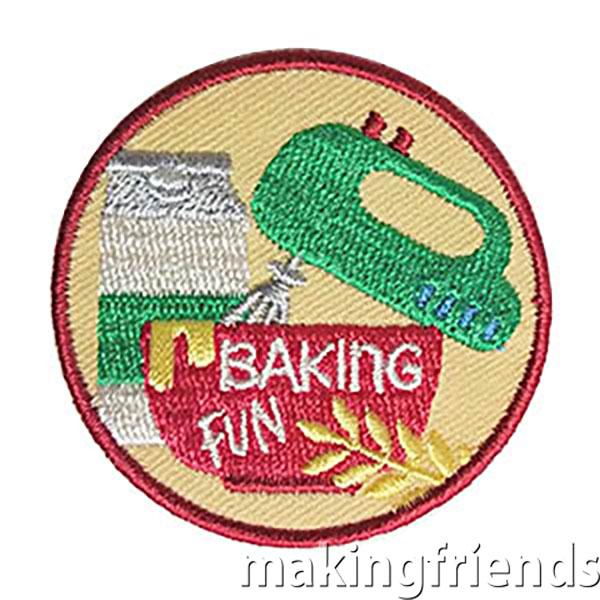 Baking Fun Badge via @gsleader411