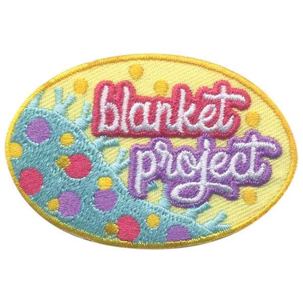 Girl Scout Blanket Project Fun Patch