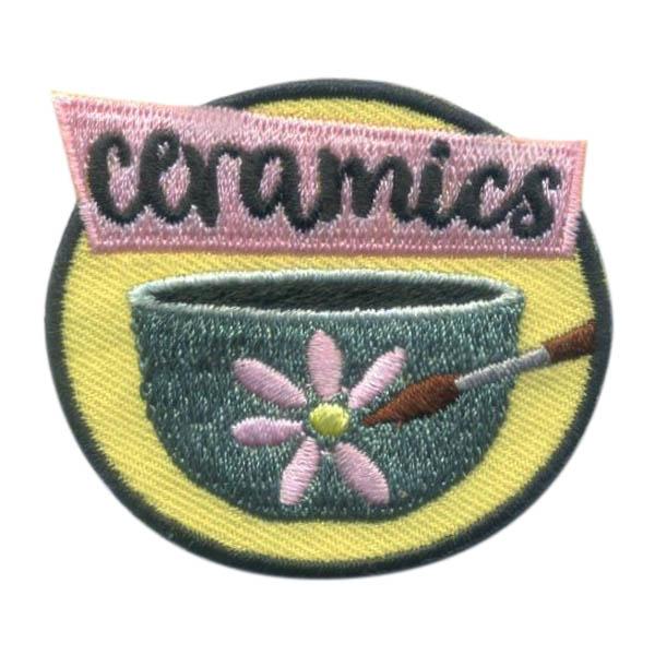 Girl Scout Ceramics Fun Patch