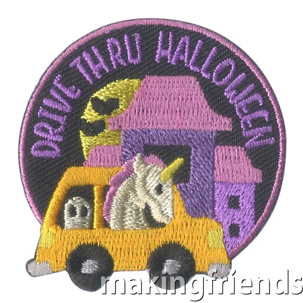 Halloween will be different this year but let's make it fun with drive thru Halloween parties!.$.69 each Free Shipping Available #makingfriends #halloweenpatch #drivethruhalloween #drivethru #halloween2020 #halloweencostumes via @gsleader411