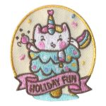 Girl Scout Holiday Fun Patch