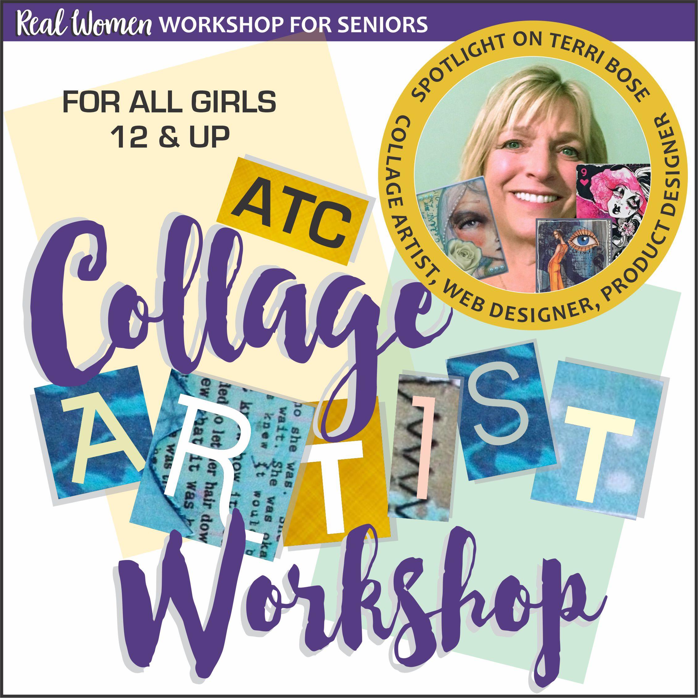 Senior Girl Scout Collage Artist Workshop