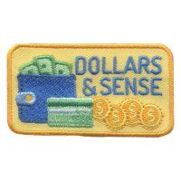 Girl Scout Dollars & Sense Fun Patch