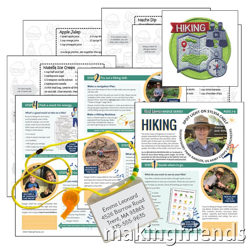 Girl Scout Real Women Hiking Virtual Workshop Kit via @gsleader411